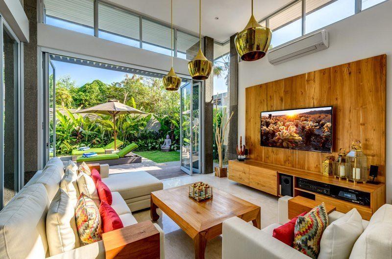 Villa Bamboo Aramanis Media Room   Seminyak, Bali