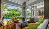 Villa Bamboo Aramanis Living Room   Seminyak, Bali
