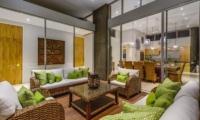 Villa Bamboo Aramanis Living Area   Seminyak, Bali