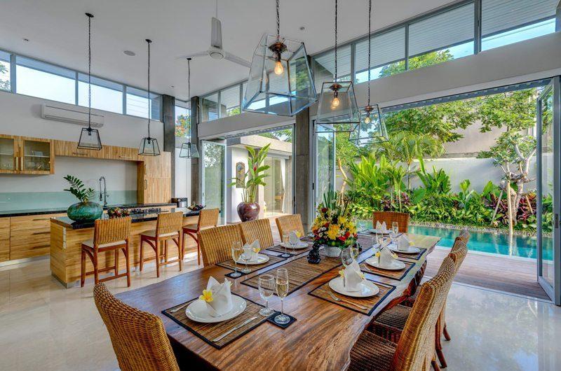 Villa Bamboo Aramanis Dining Room   Seminyak, Bali