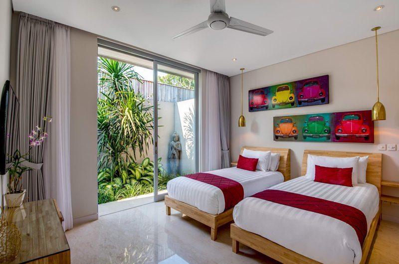 Villa Bamboo Aramanis Twin Bedroom   Seminyak, Bali