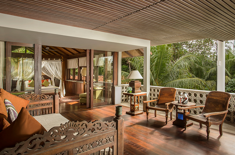Jeeva Saba Estate Seating Area | Gianyar, Bali
