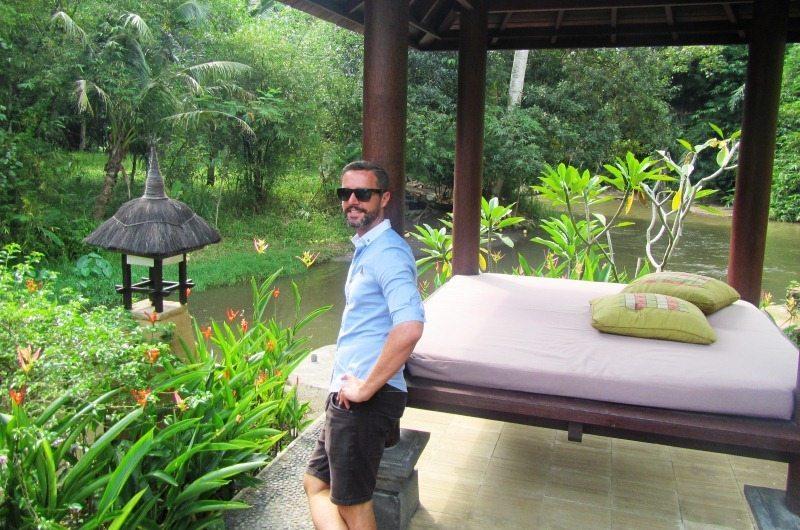 Ayung River view at Villa Semana