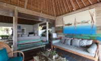 Villa Driftwood Living Area | Nusa Lembongan, Bali