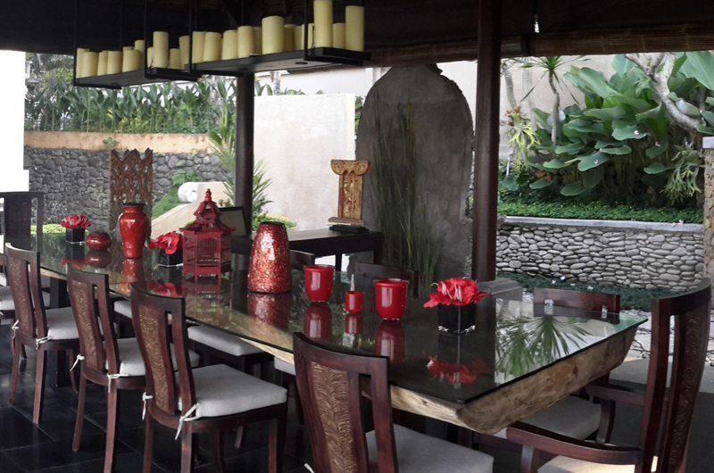 Villa Kembang Dining Area | Ubud, Bali