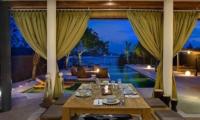 Villa Kingfisher Dining Room   Nusa Lembongan, Bali