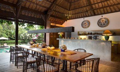 Villa Mamoune Dining Area   Umalas, Bali