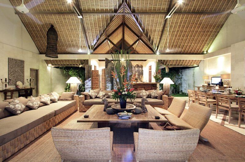Villa Massilia 4br Living Area | Seminyak, Bali