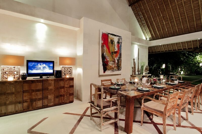 Villa Massilia 4br Dining Area | Seminyak, Bali