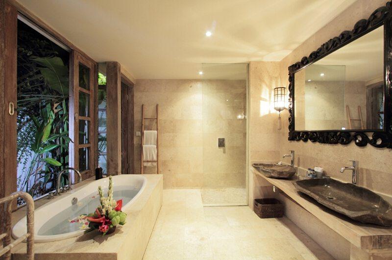 Villa Massilia 3br Bathroom One | Seminyak, Bali