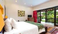 Villa Theo Bedroom One with TV | Umalas, Bali