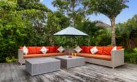 Villa Theo Outdoor Seating | Umalas, Bali