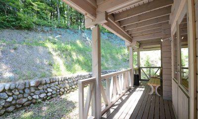 Maki Cottage Verandah | Hakuba, Nagano