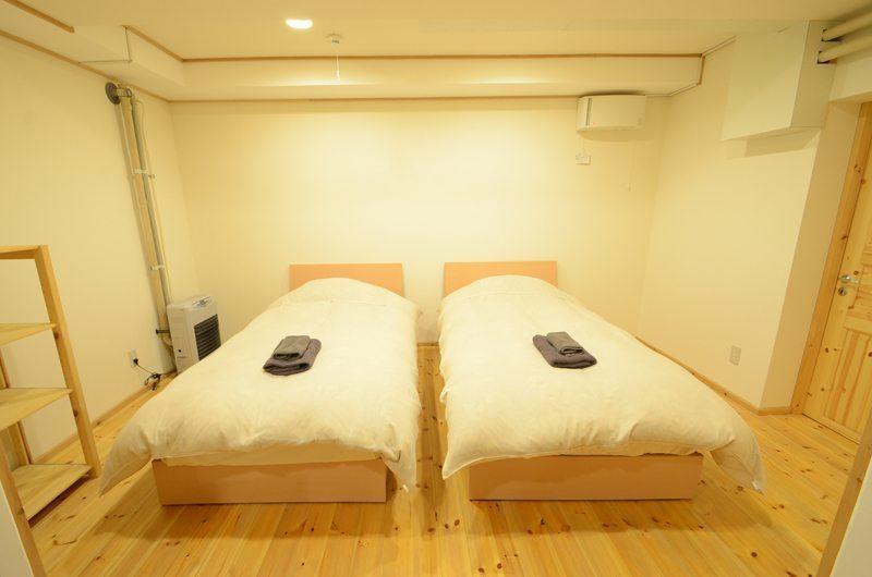 Maki Cottage Twin Bedroom   Hakuba, Nagano