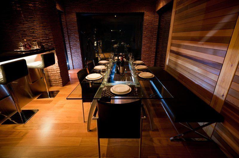 One Happo Chalet Dining Area | Hakuba, Nagano