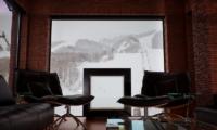 One Happo Chalet Indoor Lounge | Hakuba, Nagano