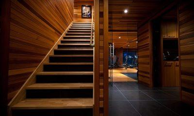 One Happo Chalet Staircase | Hakuba, Nagano