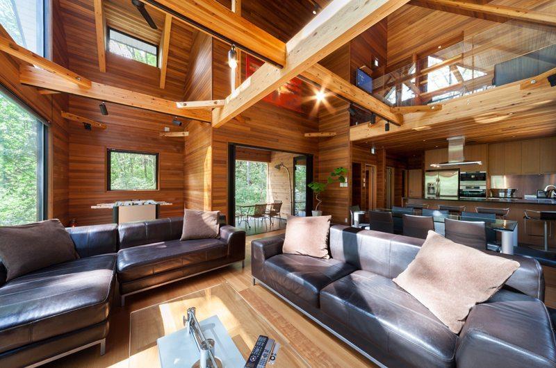 Phoenix One Living Room | Hakuba, Nagano