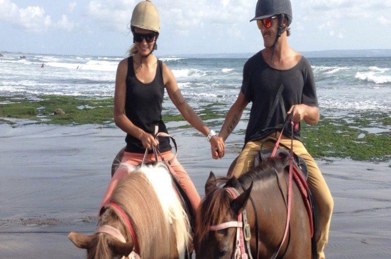 Horse Riding Ocean Canggu Bali