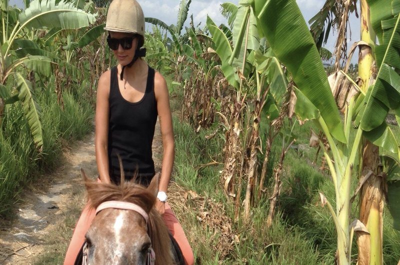 Horse Riding Rice Paddies Canggu Bali