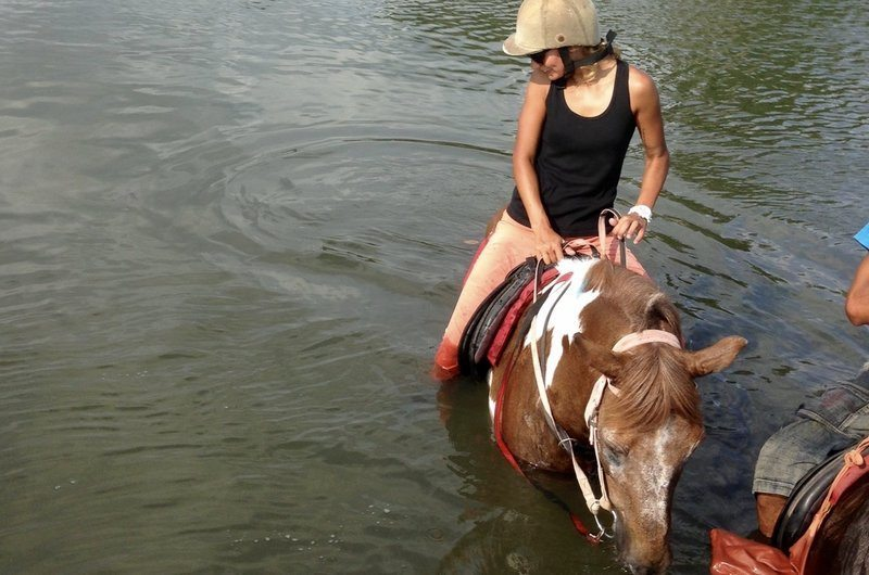 Horse Riding River Canggu Bali