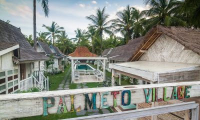 Palmeto Village Entrance | Lombok | Indonesia