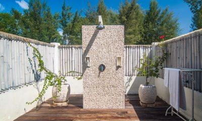 Villa Coral Flora Outdoor Bathroom   Lombok   Indonesia