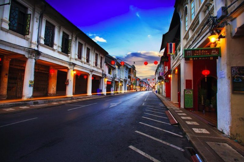 Old Town Phuket Thailand