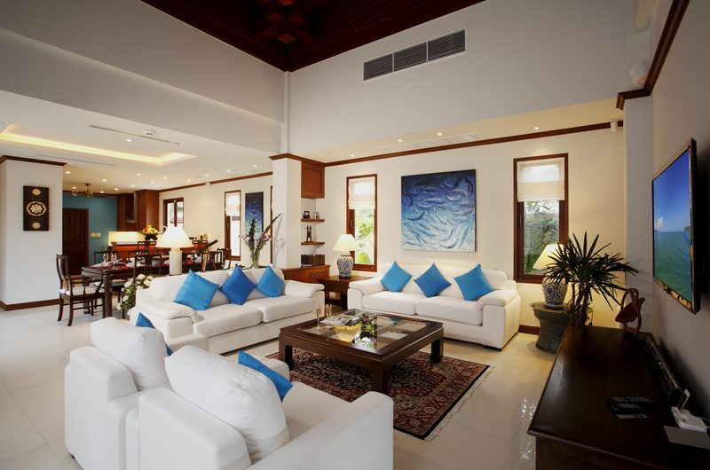 Blue Sky Villa Living Area | Bang Tao, Phuket