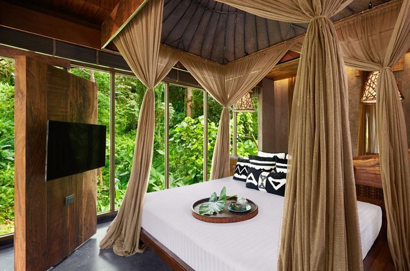 Keemala Clay Pool Cottage Bedroom Side View | Phuket, Thailand