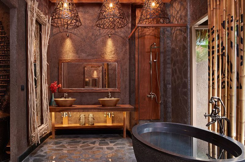 Keemala Clay Pool Cottage Bathroom | Phuket, Thailand