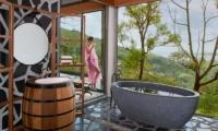 Keemala Tent Pool Villa Bathroom | Phuket, Thailand