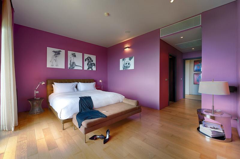 Malaiwana Villa M Bedroom with Lamps | Phuket, Thailand