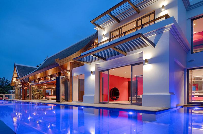 Malaiwana Villa M Night View | Phuket, Thailand