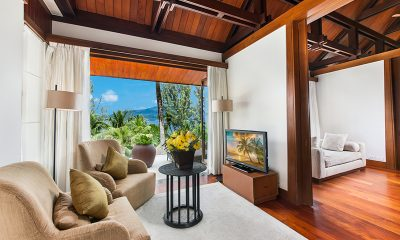 Villa Analaya Living Room with Ocean View | Phuket, Thailand