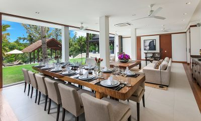 Villa Analaya Open Plan Dining Area | Phuket, Thailand