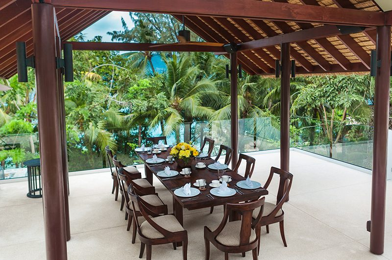 Villa Analaya Dining Table with View | Phuket, Thailand