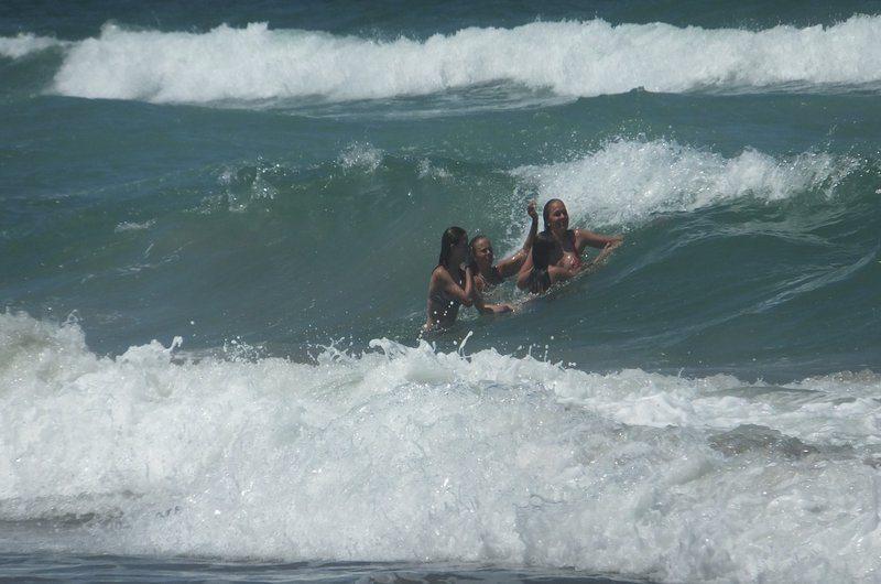 Rip Currents Bali Thailand