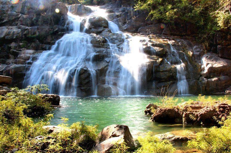 Ton Sai Waterfall Phuket Thailand