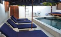 Aqua Nusa The Bungalow Reclining Sun Loungers | Nusa Lembongan, Bali