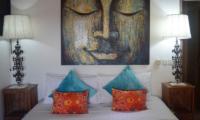 Aqua Nusa The Bungalow Bedroom View | Nusa Lembongan, Bali