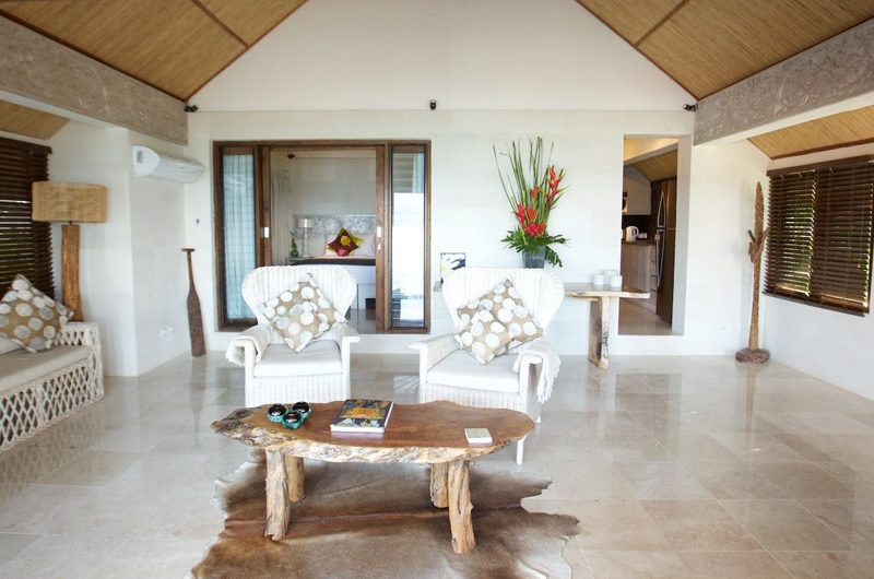 Aqua Nusa Villa Chantique Open Plan Living Area | Nusa Lembongan, Bali
