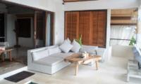Aqua Nusa Villa Chantique Indoor Living Area | Nusa Lembongan, Bali