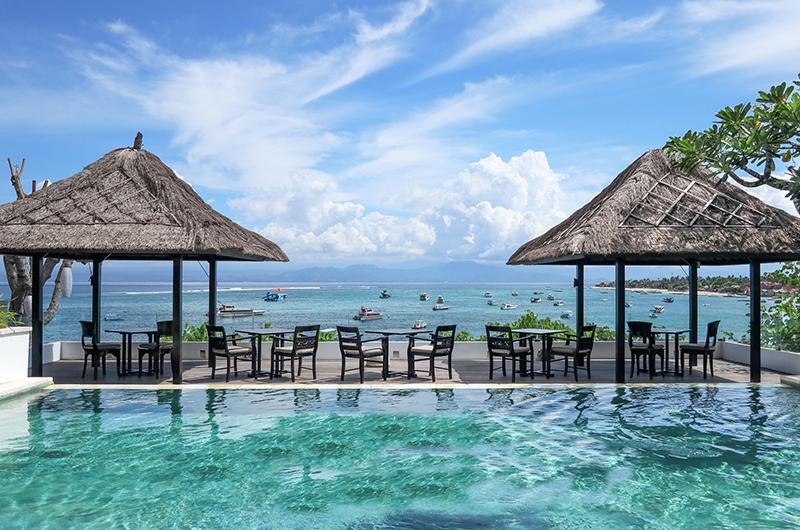 Batu Karang Lembongan Resort Outdoor Seating   Nusa Lembongan, Bali