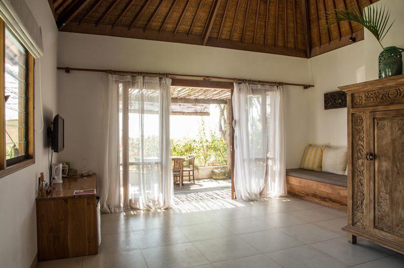 Bersantai Villas Villa Rama Bedroom Pavilion | Nusa Lembongan, Bali