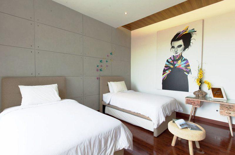 Nazeki Villa Twin Bedroom   Uluwatu, Bali
