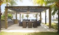Opera Villa Seating Area | Nusa Lembongan, Bali