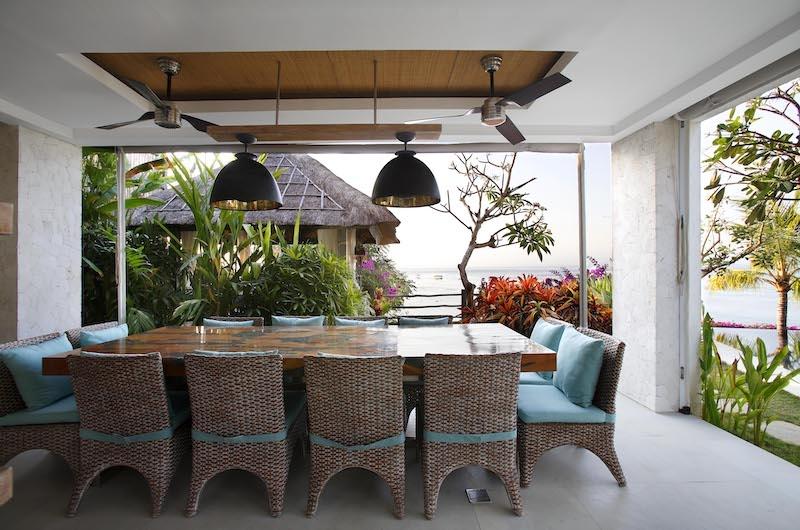Opera Villa Open Plan Dining Area | Nusa Lembongan, Bali