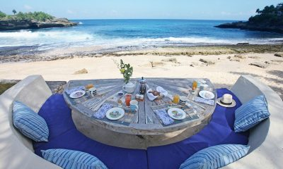 The Beach Shack Outdoor Dining Area | Nusa Lembongan, Bali