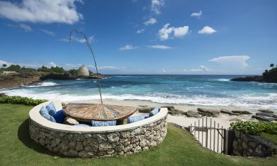 The Beach Shack Outdoor Area | Nusa Lembongan, Bali